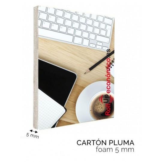 Cartel Cartón Pluma 5mm