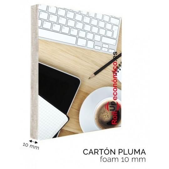 Cartel Cartón Pluma 10mm