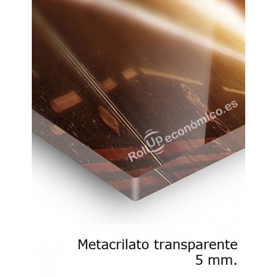 Metacrilato transparente 5mm
