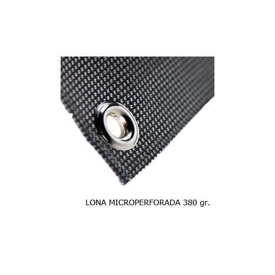 Lona Microperforada 380 gr.