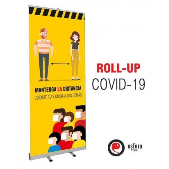 Roll up COVID 85x200 cm