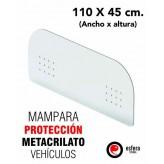 Mampara protección vehículos