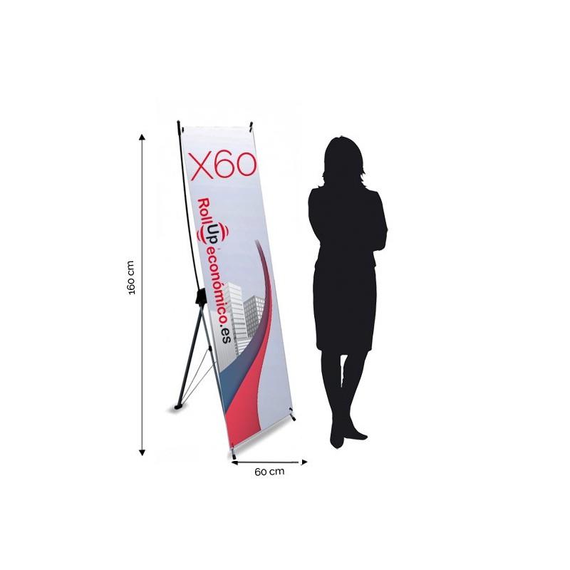 Xbanner 60x160 cm.