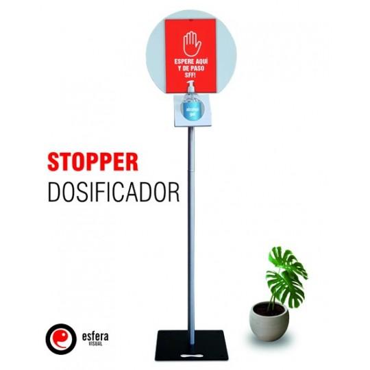 Stopper dosificador gel