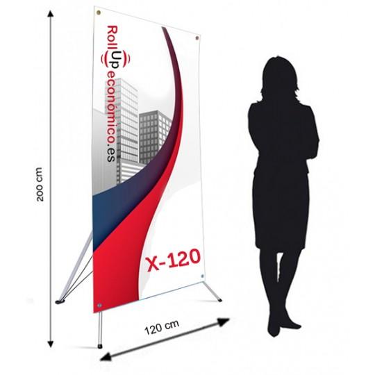 Xbanner 120x200 cm.