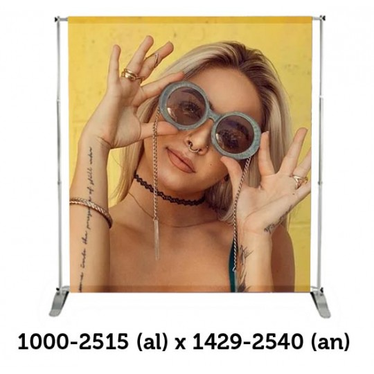 Telescope Banner 2x2 mts