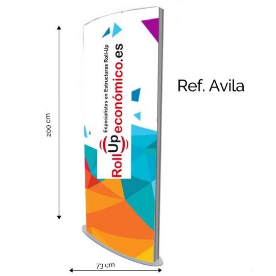 Tótem Publicitario Avila