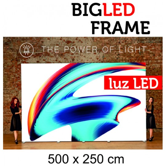 Big Led Frame 500 x 250 cm