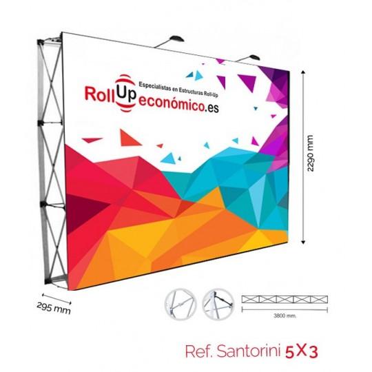 Pop-Up Photocall 3x3 Velcro